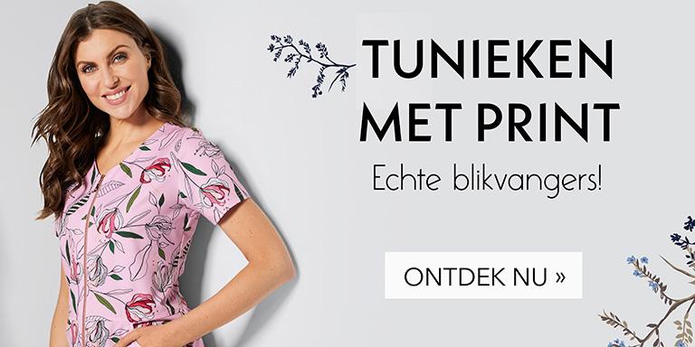 Tunieken met print