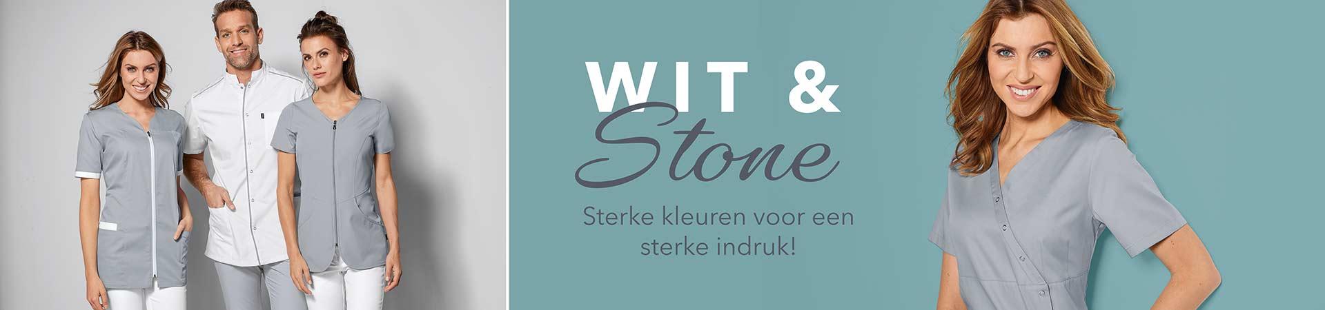 Trendkleuren wit & stone