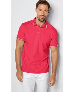 Poloshirt van single jersey